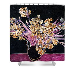 Inv Blend 3 Van Gogh Shower Curtain