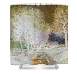 Inv Blend 4 Sisley Shower Curtain
