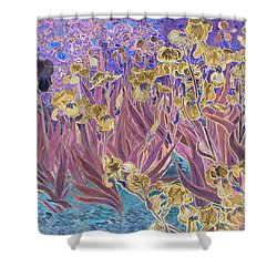 Inv Blend 6 Van Gogh Shower Curtain