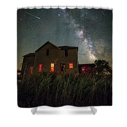 Invasion Shower Curtain