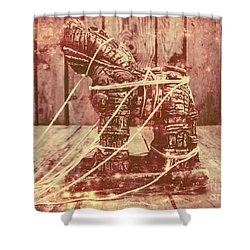 Invasion In Ancient History Shower Curtain
