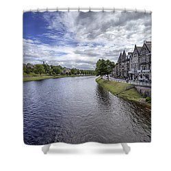 Shower Curtain featuring the photograph Inverness by Jeremy Lavender Photography
