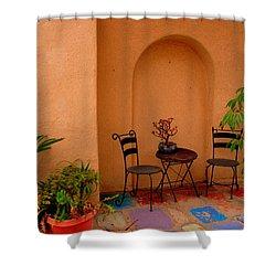 Invitation Shower Curtain by Susanne Van Hulst