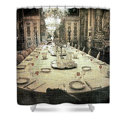 Invitation To Dinner At The Castle... Shower Curtain