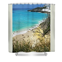 Invitation To Swim Shower Curtain by Expressionistart studio Priscilla Batzell