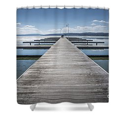 Inviting Walk Shower Curtain