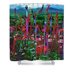 Invocation Shower Curtain