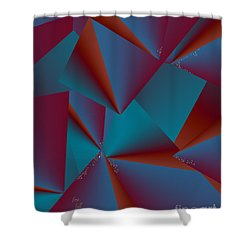 Inw_20a6146 Free Fall Drop To Crystal Shower Curtain