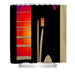 Shower Curtain featuring the digital art Inw_20a6465_awakening by Kateri Starczewski
