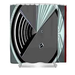 Shower Curtain featuring the digital art Inw_20a6469_wink by Kateri Starczewski