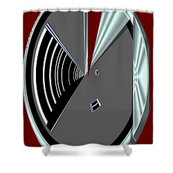 Shower Curtain featuring the digital art Inw_20a6470_wink by Kateri Starczewski