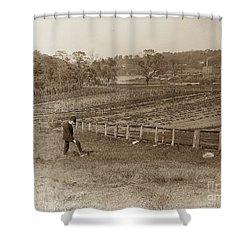 Shower Curtain featuring the photograph Inwood 1906 by Cole Thompson