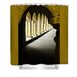 Iona Abbey Scotdland Shower Curtain