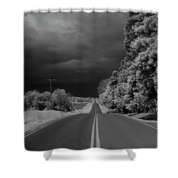 Iowa Sac Fox Drive Shower Curtain