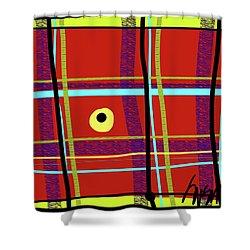 iPlaid in Memoriam of Steve Jobs Shower Curtain