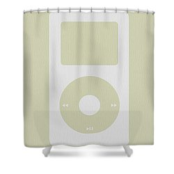 iPod Shower Curtain by Naxart Studio