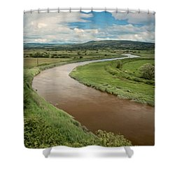 Ireland River Shower Curtain