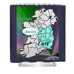 Tour Irelands Ancient East Shower Curtain