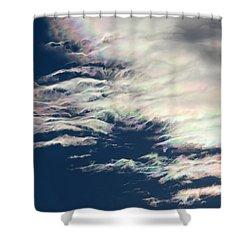 Iridescent Clouds 3 Shower Curtain