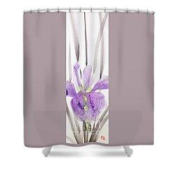 Iris 12050017-2fy Shower Curtain