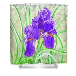 Iris Hope Shower Curtain