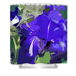 Iris Impressions Shower Curtain