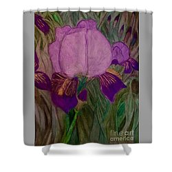 Iris - Magic Man. Shower Curtain