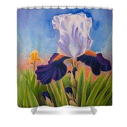 Iris Morning Shower Curtain