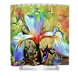 Iris Oh Iris 2 Shower Curtain