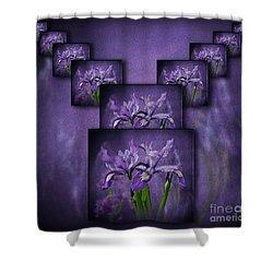 Iris Stack Shower Curtain