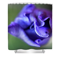Iris Unfolding Shower Curtain