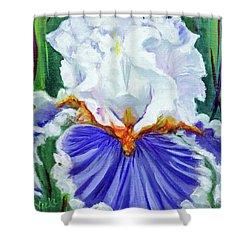 Iris Wisdom Shower Curtain