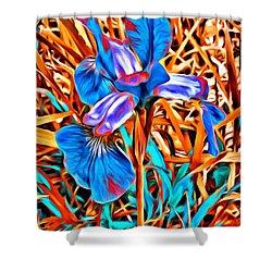 Iris Wow Shower Curtain