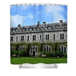 Irish Architecture Shower Curtain