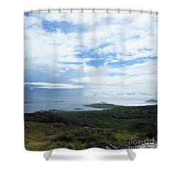 Irish Countryside 3 Shower Curtain by Crystal Rosene