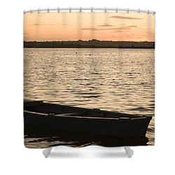 Shower Curtain featuring the photograph Irish Dusk by Ian Middleton