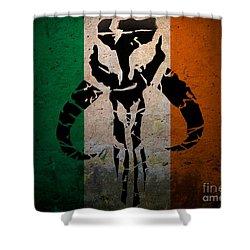 Irish Mandalorian Shower Curtain