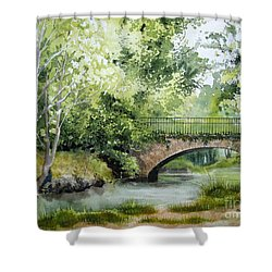 Irish Overpass Shower Curtain