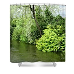Irish River 2 Shower Curtain