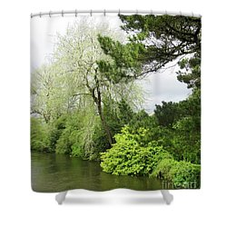 Irish River 3 Shower Curtain