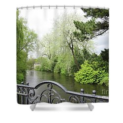 Irish River 4 Shower Curtain
