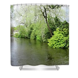 Irish River Shower Curtain