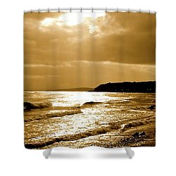 Irish Sea Shower Curtain