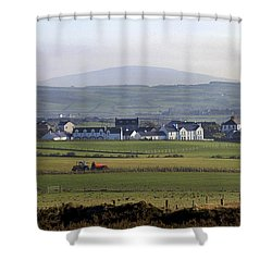Irish Sheep Farm II Shower Curtain