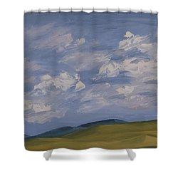 Irish Sky Shower Curtain