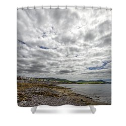 Irish Sky - Waterville, Ring Of Kerry Shower Curtain