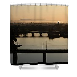 Irish Sunrise  Shower Curtain
