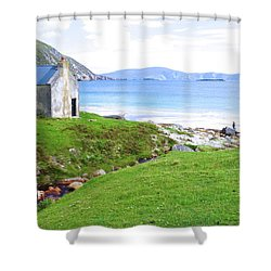 Irish Treasures.. Past And Present Shower Curtain