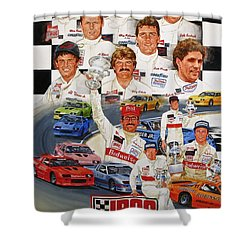 Iroc Racing Shower Curtain by Cliff Spohn