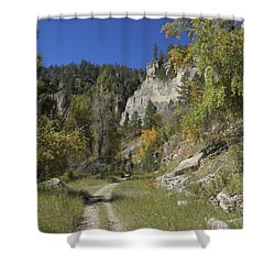Iron Creek Shower Curtain